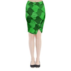 Fabric Textile Texture Surface Midi Wrap Pencil Skirt