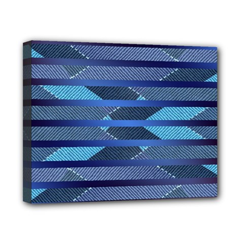 Fabric Texture Alternate Direction Canvas 10  X 8