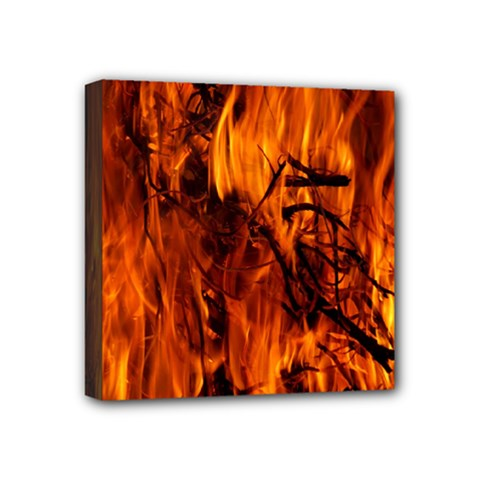 Fire Easter Easter Fire Flame Mini Canvas 4  x 4