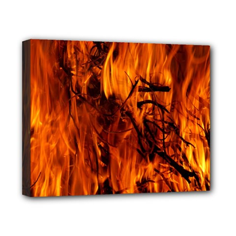 Fire Easter Easter Fire Flame Canvas 10  x 8