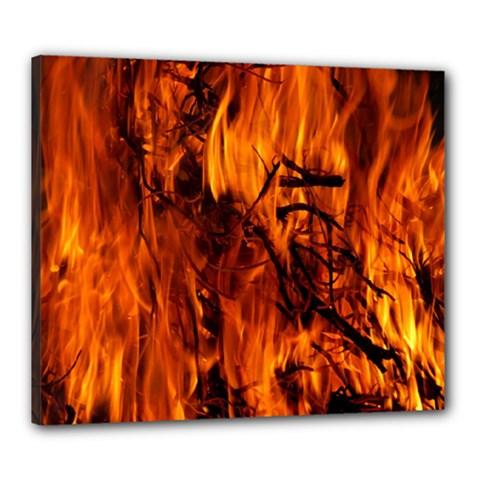 Fire Easter Easter Fire Flame Canvas 24  X 20