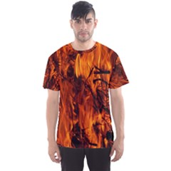 Fire Easter Easter Fire Flame Men s Sport Mesh Tee