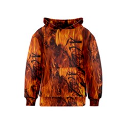 Fire Easter Easter Fire Flame Kids  Pullover Hoodie