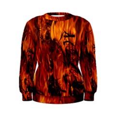 Fire Easter Easter Fire Flame Women s Sweatshirt