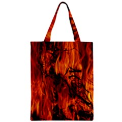 Fire Easter Easter Fire Flame Zipper Classic Tote Bag