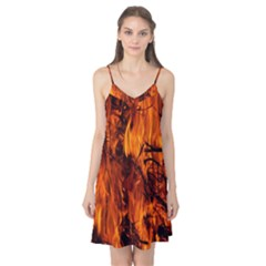 Fire Easter Easter Fire Flame Camis Nightgown