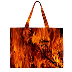 Fire Easter Easter Fire Flame Large Tote Bag