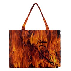 Fire Easter Easter Fire Flame Medium Tote Bag