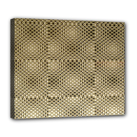 Fashion Style Glass Pattern Deluxe Canvas 24  X 20