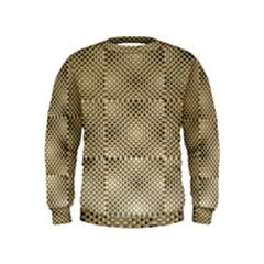 Fashion Style Glass Pattern Kids  Sweatshirt