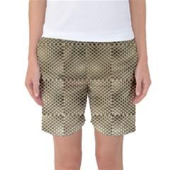 Fashion Style Glass Pattern Women s Basketball Shorts