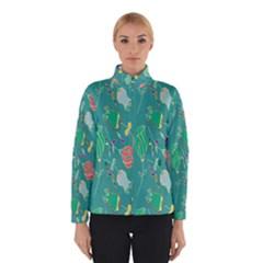 Floral Elegant Background Winterwear