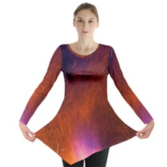 Fire Radio Spark Fire Geiss Long Sleeve Tunic