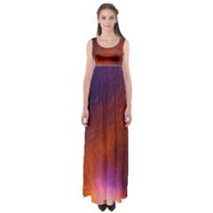 Fire Radio Spark Fire Geiss Empire Waist Maxi Dress