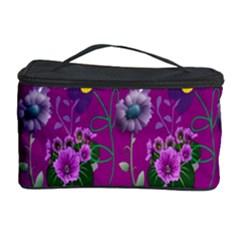Flower Pattern Cosmetic Storage Case