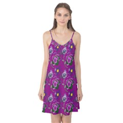 Flower Pattern Camis Nightgown