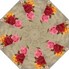 Flower Floral Bouquet Background Golf Umbrellas