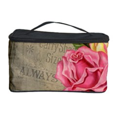 Flower Floral Bouquet Background Cosmetic Storage Case