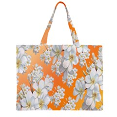 Flowers Background Backdrop Floral Large Tote Bag