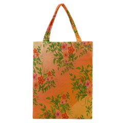 Flowers Background Backdrop Floral Classic Tote Bag