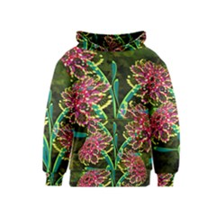 Flowers Abstract Decoration Kids  Pullover Hoodie