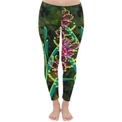 Flowers Abstract Decoration Classic Winter Leggings