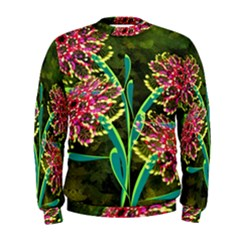 Flowers Abstract Decoration Men s Sweatshirt