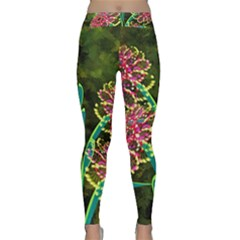 Flowers Abstract Decoration Classic Yoga Leggings