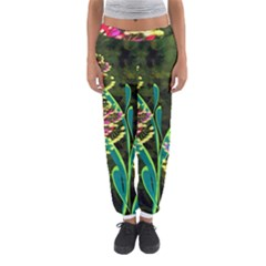Flowers Abstract Decoration Women s Jogger Sweatpants