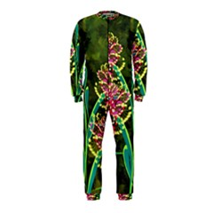 Flowers Abstract Decoration OnePiece Jumpsuit (Kids)