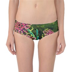 Flowers Abstract Decoration Classic Bikini Bottoms