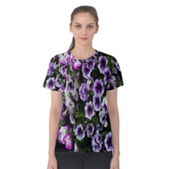 Flowers Blossom Bloom Plant Nature Women s Cotton Tee