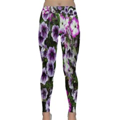 Flowers Blossom Bloom Plant Nature Classic Yoga Leggings