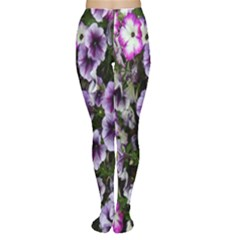 Flowers Blossom Bloom Plant Nature Women s Tights
