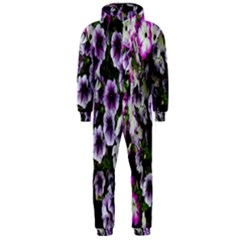 Flowers Blossom Bloom Plant Nature Hooded Jumpsuit (men)