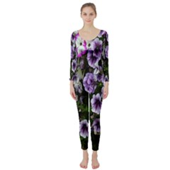 Flowers Blossom Bloom Plant Nature Long Sleeve Catsuit