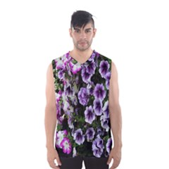 Flowers Blossom Bloom Plant Nature Men s Basketball Tank Top