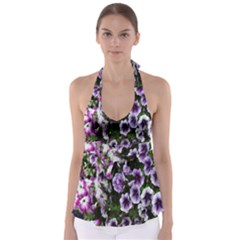 Flowers Blossom Bloom Plant Nature Babydoll Tankini Top