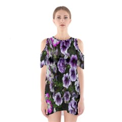 Flowers Blossom Bloom Plant Nature Shoulder Cutout One Piece