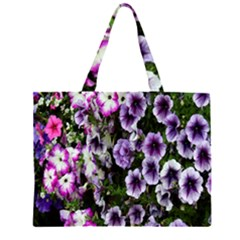 Flowers Blossom Bloom Plant Nature Large Tote Bag
