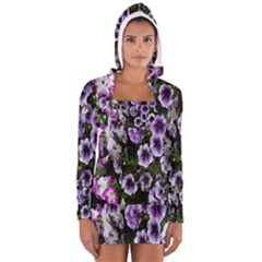 Flowers Blossom Bloom Plant Nature Women s Long Sleeve Hooded T-shirt