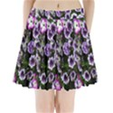 Flowers Blossom Bloom Plant Nature Pleated Mini Skirt View1