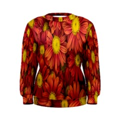 Flowers Nature Plants Autumn Affix Women s Sweatshirt