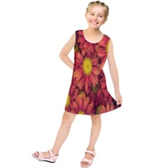 Flowers Nature Plants Autumn Affix Kids  Tunic Dress