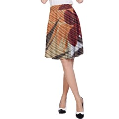 Fall Colors A-Line Skirt
