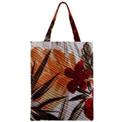 Fall Colors Zipper Classic Tote Bag