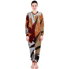 Fall Colors Onepiece Jumpsuit (ladies)