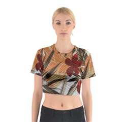 Fall Colors Cotton Crop Top