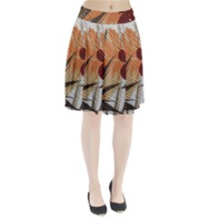 Fall Colors Pleated Skirt