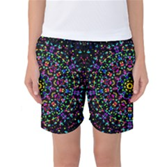 Fractal Texture Women s Basketball Shorts